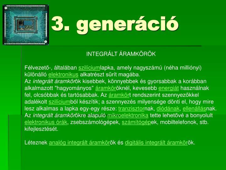 3. generáció