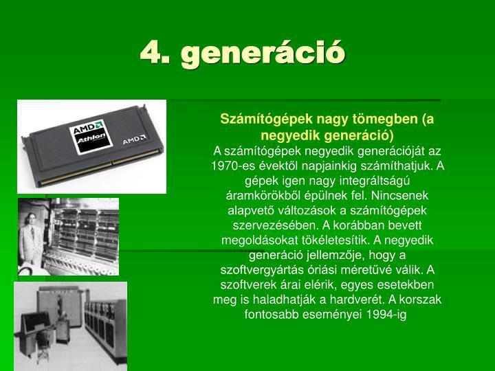 4. generáció