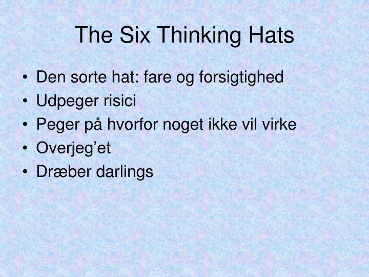 The Six Thinking Hats
