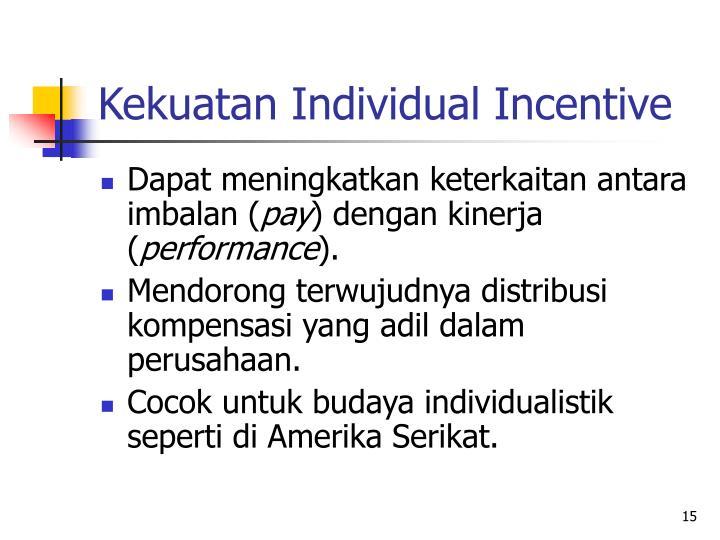 Kekuatan Individual Incentive