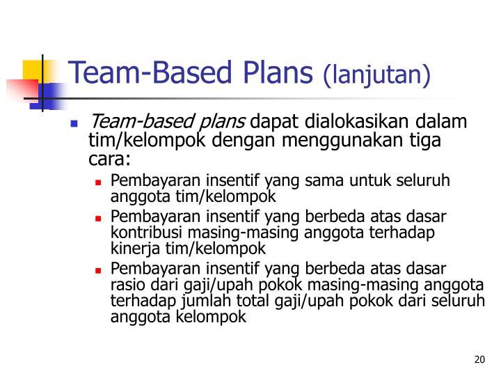 Team-Based Plans