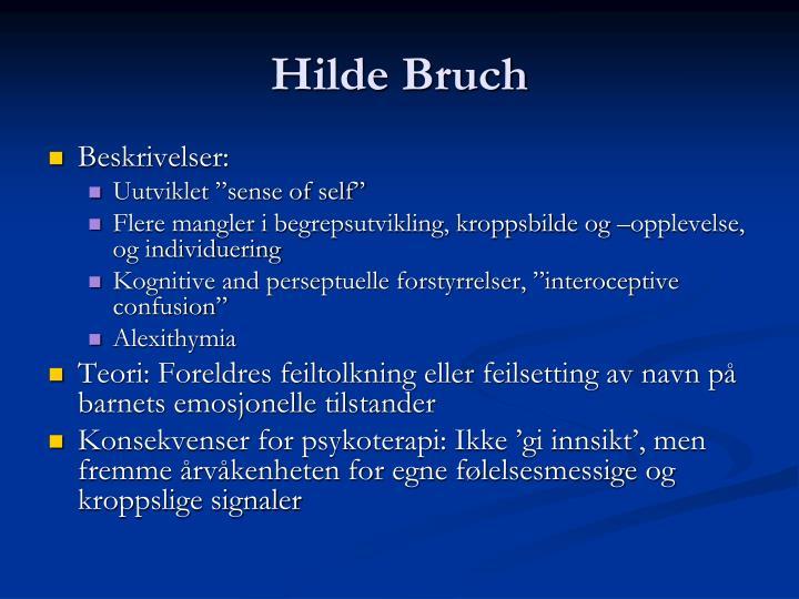 Hilde Bruch