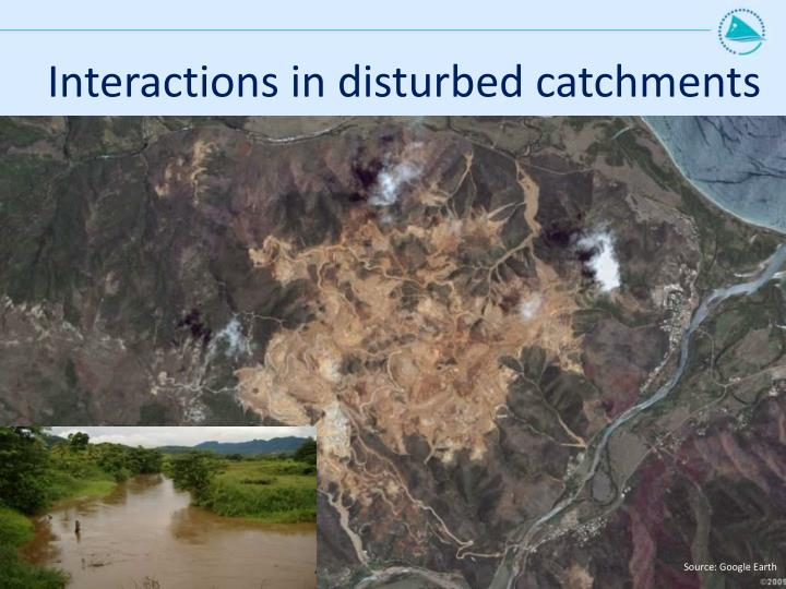 Interactions in disturbed catchments
