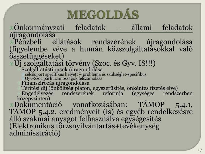 MEGOLDÁS