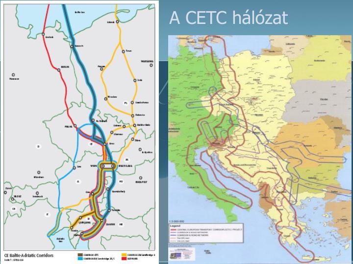 A CETC hálózat