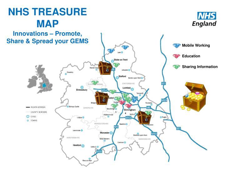 NHS TREASURE MAP
