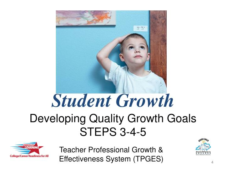 student growth developing quality growth goals steps 3 4 5 n.