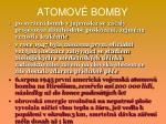 atomov bomby