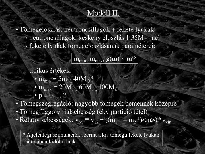 Modell II.