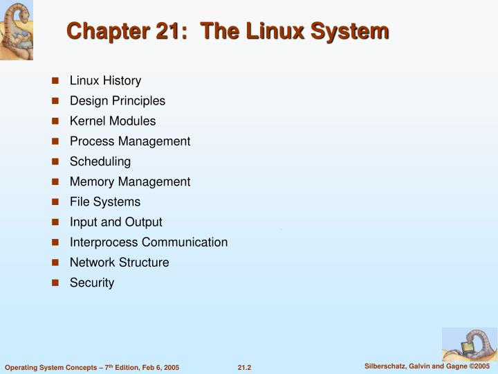 Chapter 21 the linux system1