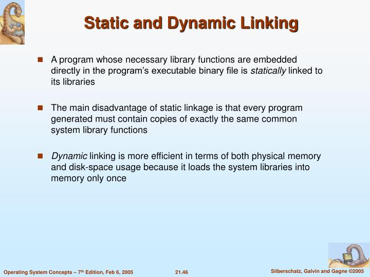 Static and Dynamic Linking