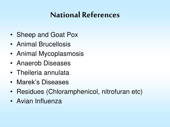 National References