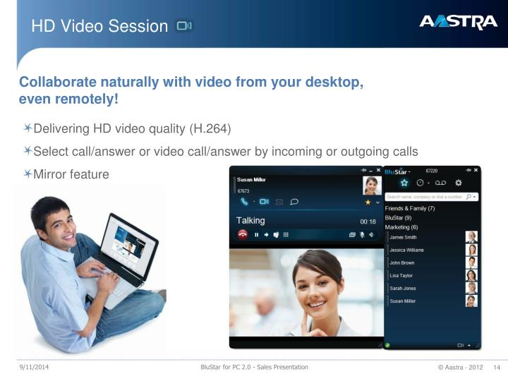 HD Video Session