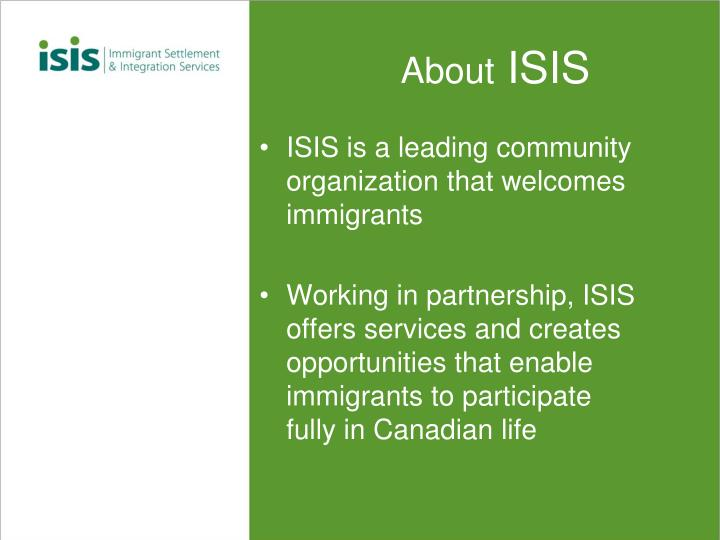 About isis
