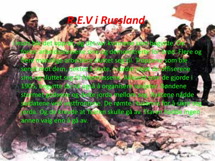 R.E.V i Russland