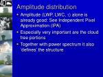 amplitude distribution