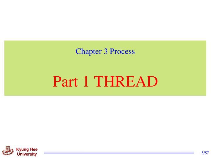 Chapter 3 process part 1 thread