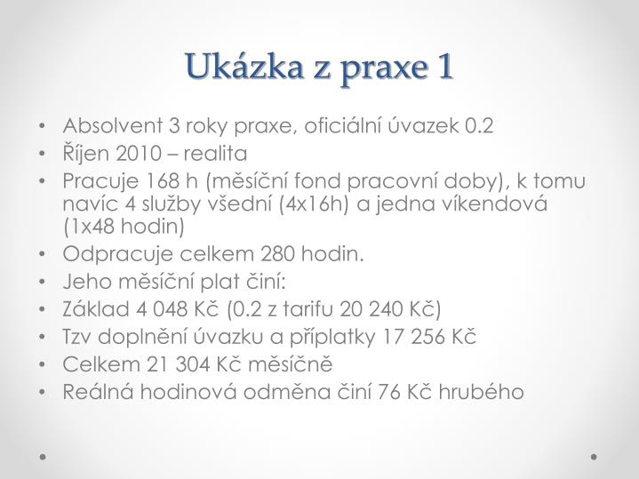 Uk zka z praxe 1