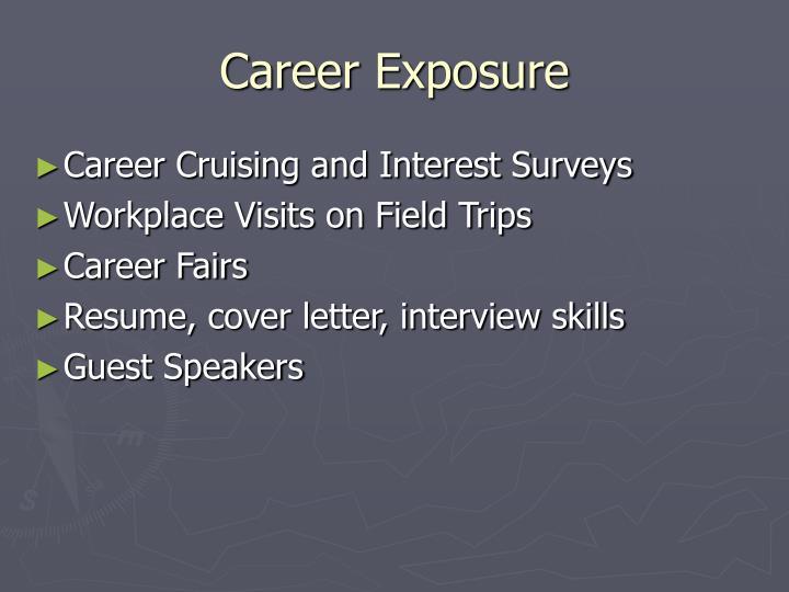 Career Exposure
