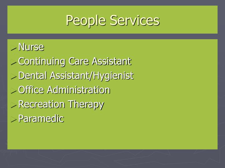 People Services