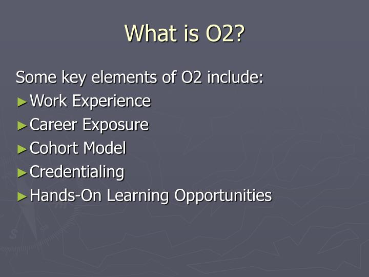 What is o2