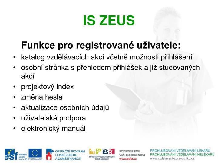 IS ZEUS