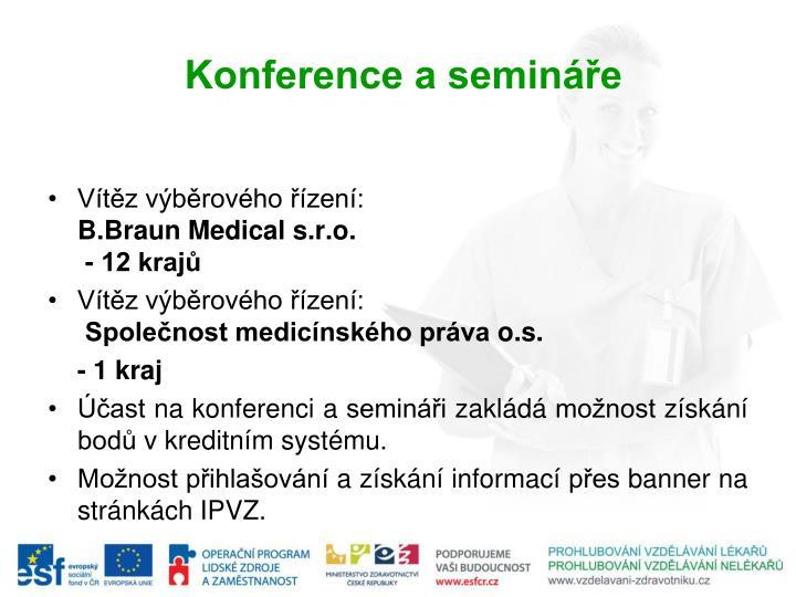 Konference a semináře