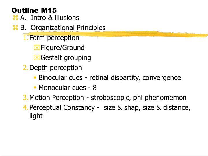 Outline M15