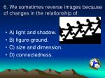 6 we sometimes reverse images because of changes in the relationship of