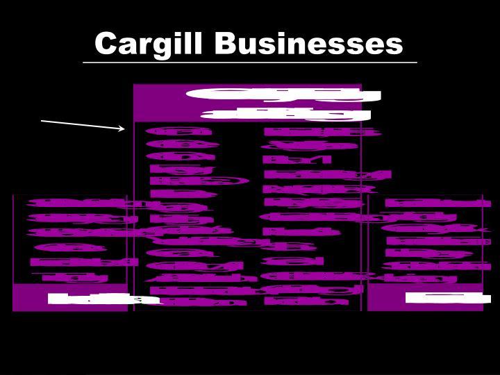 Cargill Businesses