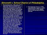 simonetti v school district of philadelphia