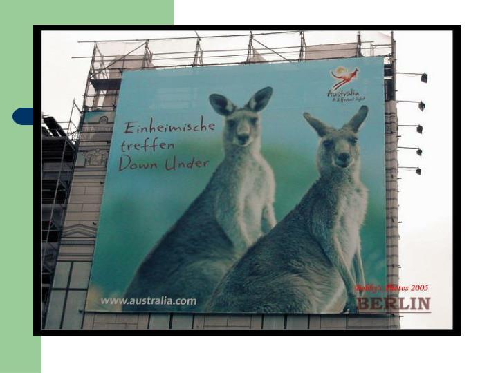 澳洲旅游广告在柏林