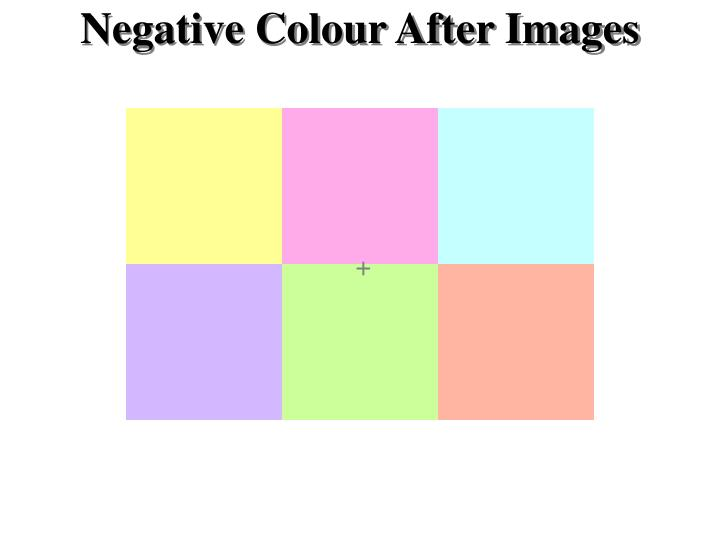 Negative Colour After Images