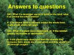 answers to questions1