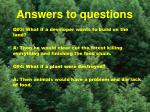 answers to questions3