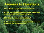 answers to questions7