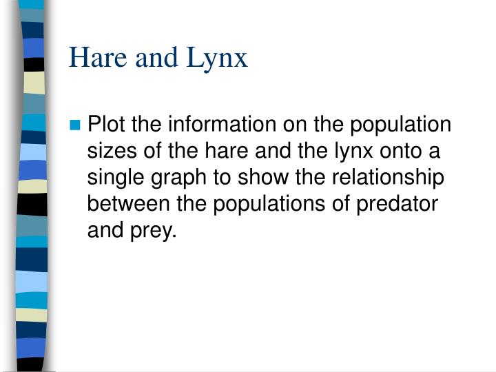 Hare and Lynx