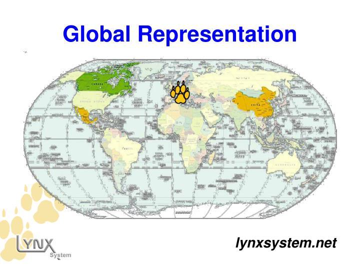 Global Representation