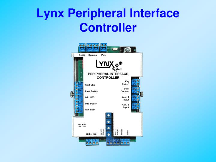 Lynx Peripheral Interface Controller