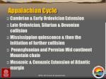 appalachian cycle