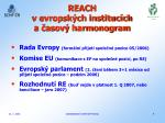 reach v evropsk ch instituc ch a asov harmonogram