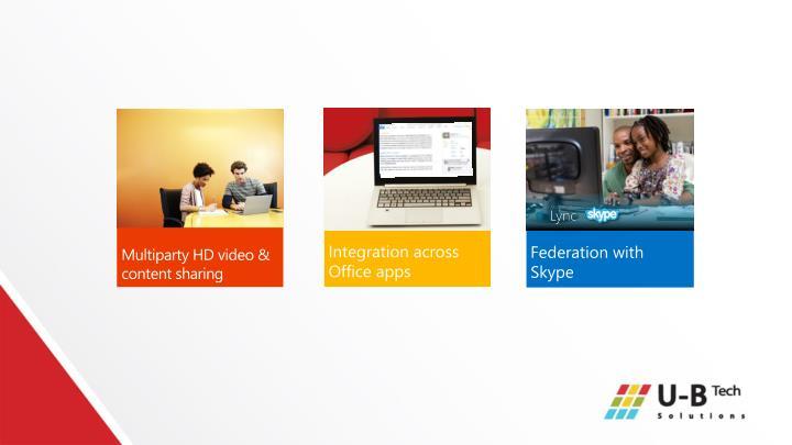 Integration across Office apps