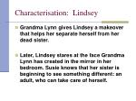 characterisation lindsey