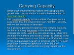 carrying capacity2