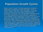 population growth cycles3
