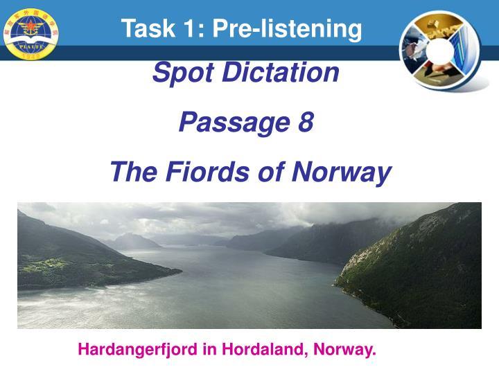 Task 1: Pre-listening