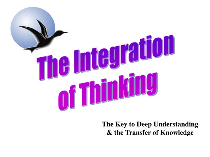 The Integration