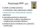 povinnosti ppp pokr2