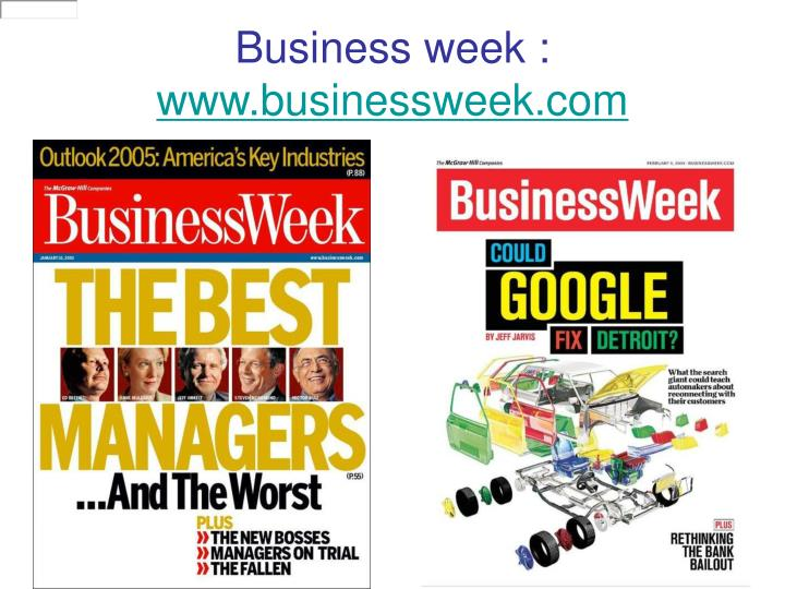 Business week :