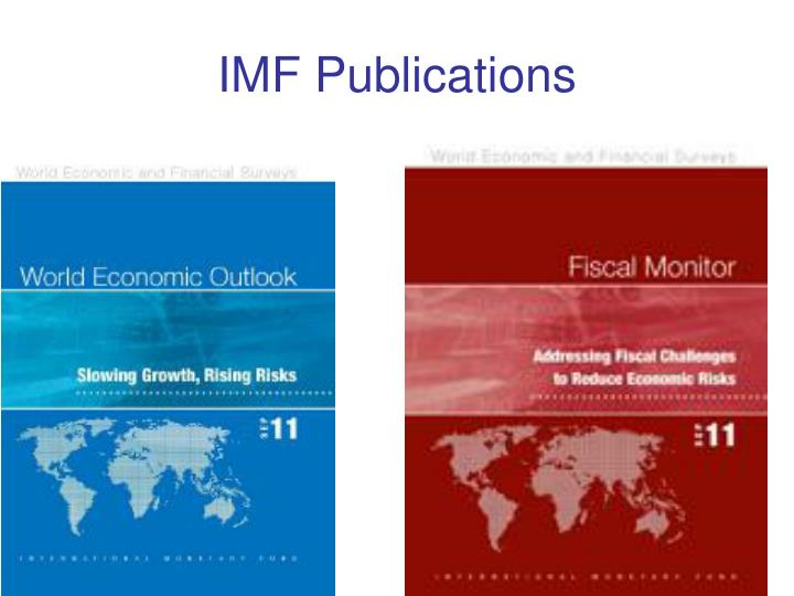 IMF Publications